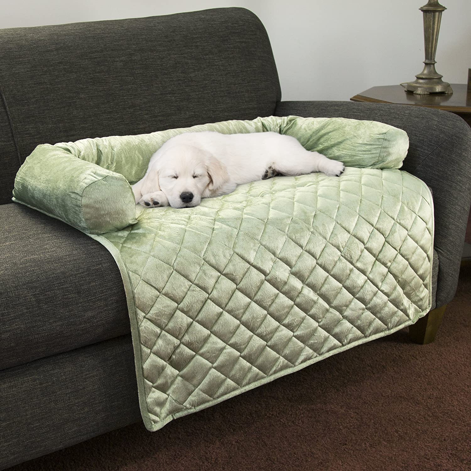Amazon PETMAKER Furniture Protector Pet Cover with Bolster