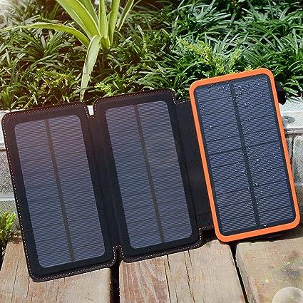 Amazon.com: Multi paneles solares Cargador Solar, Solar ...
