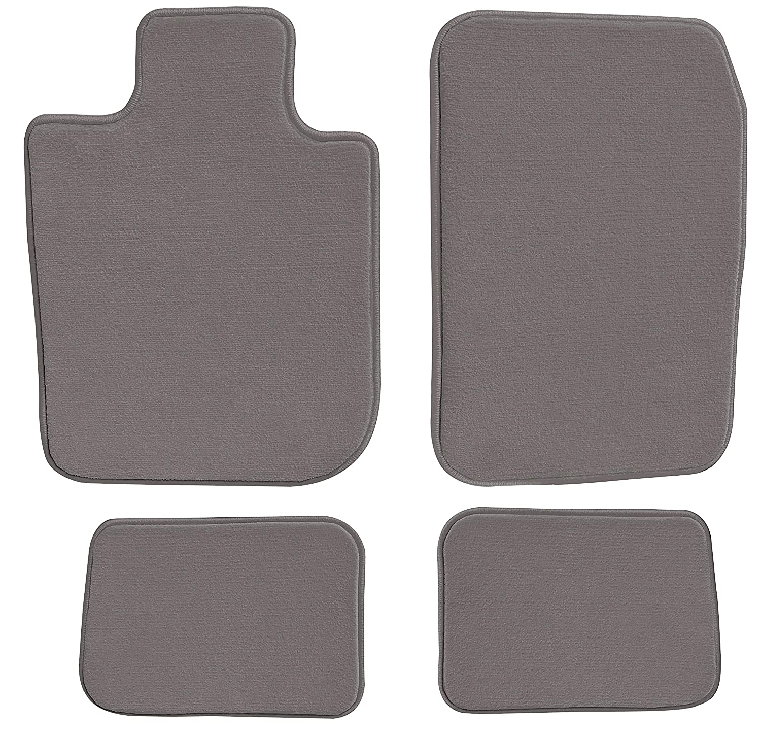 GGBAILEY D3826A-S1A-GY-LP Custom Fit Car Mats for 2010 Passenger /& Rear Floor 2012 2013 2011 2014 Chevrolet Silverado 1500 Crew Cab Grey Loop Driver