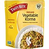 Tasty Bite Vegetable Korma Entree 10 Ounce, Fully Cooked Indian EntrÃe with Vegetables in a Creamy