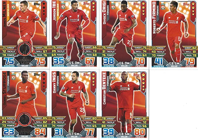 Match Attax 2015/16 Full Team Base Sets of 19 cards 2015-2016  15/16 Away kit Verzamelkaarten, ruilkaarten Verzamelingen