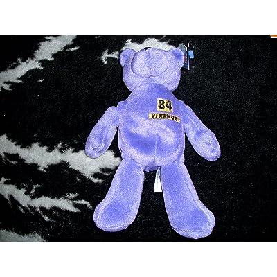 Randy Moss MVP Limited Treasures NFL Bear: Toys & Games