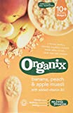Organix Banana/Peach and Apple Muesli 200 g (Pack of 4)