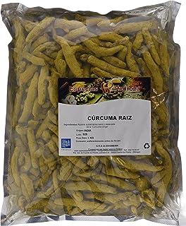 Curcuma raiz entera a granel - 100 grs: Amazon.es ...