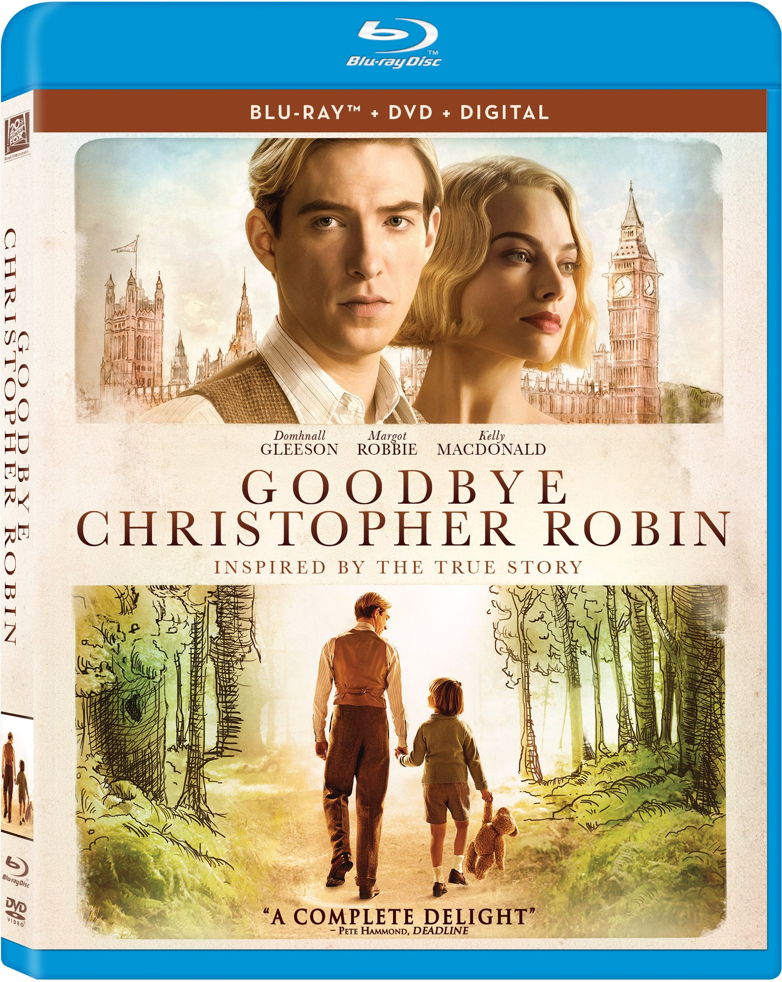 Blu-ray : Goodbye Christopher Robin (With DVD, Digitally Mastered in HD, 2 Disc)