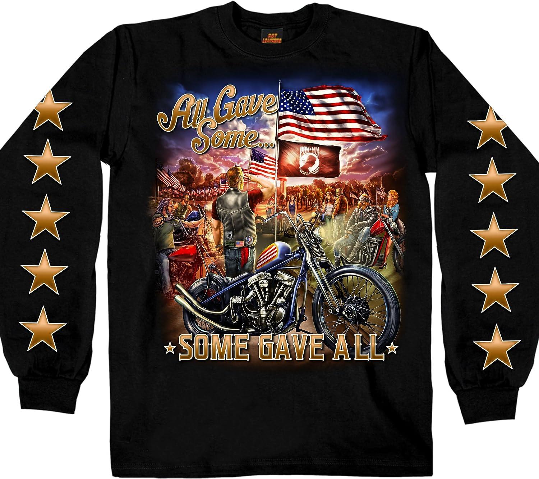 Hot Leathers Unisex-Adult T-Shirt GMS2407 BLACK