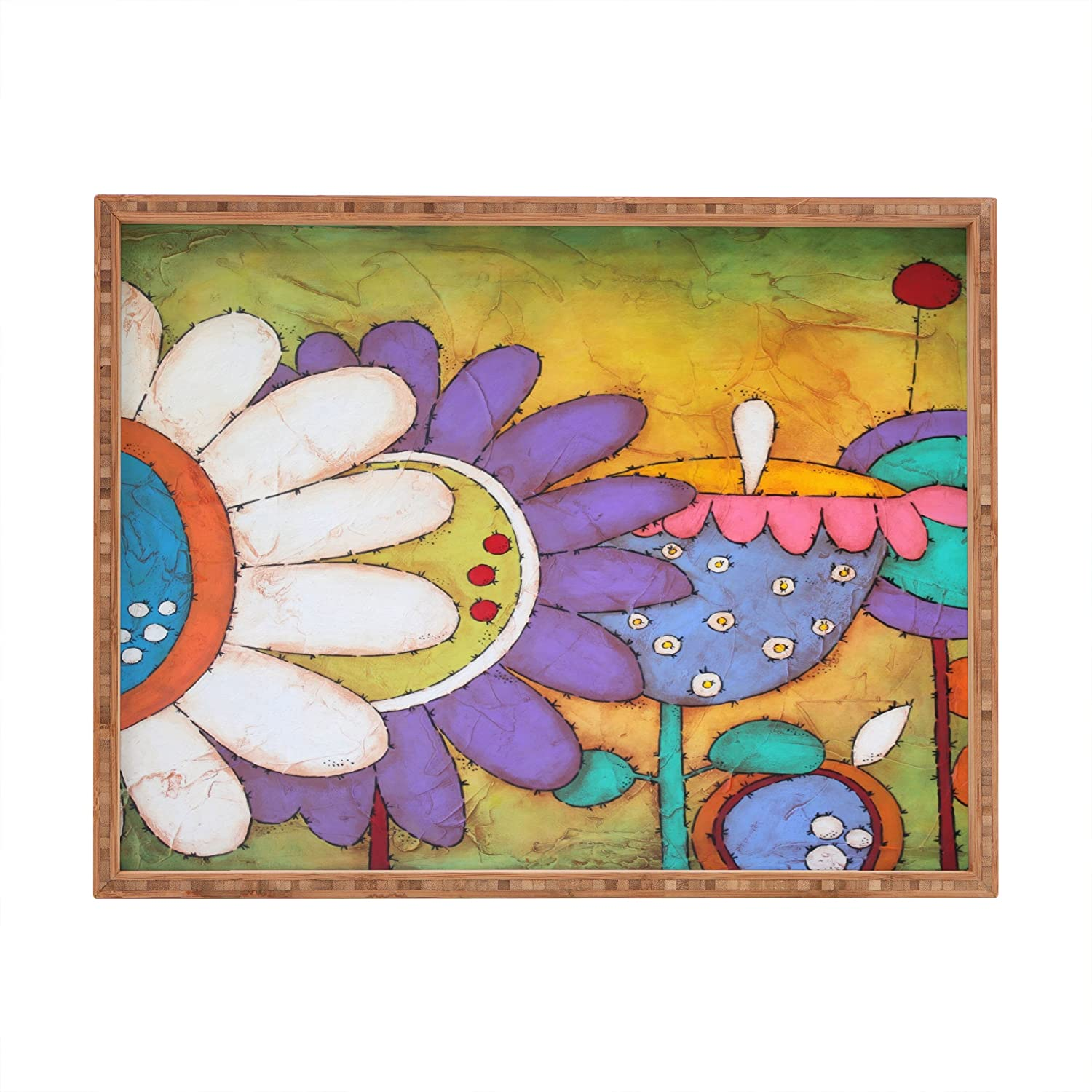 17 x 22.5 Deny Designs Isa Zapata Living Our Dream Indoor//Outdoor Rectangular Tray