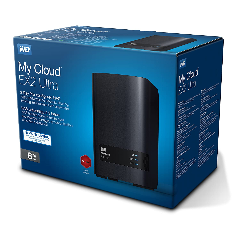 WD My Cloud EX2 Ultra Black Diskless