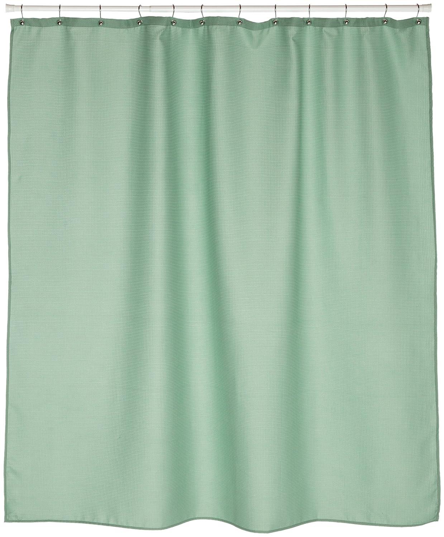 Amazon Carnation Home Fashions Waffle Weave Fabric Shower Curtain Sage Kitchen
