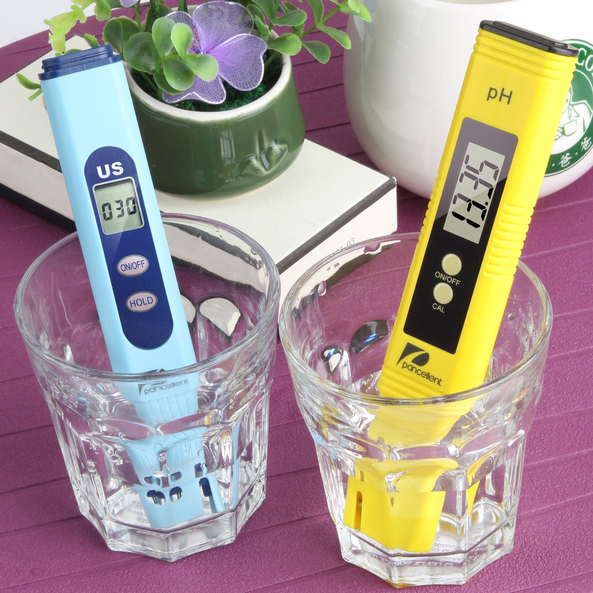 Water Quality Test Meter Pancellent EC PH 2 in 1 Kit 0-9990us/cm Electrical Conductivity 0.01pH Resolution 0.01pH Accuracy by Pancellent (Image #7)