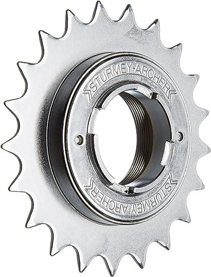 21T Freewheel 1//2X3//32 Chrome Silver Sturmey Archer Freewheels