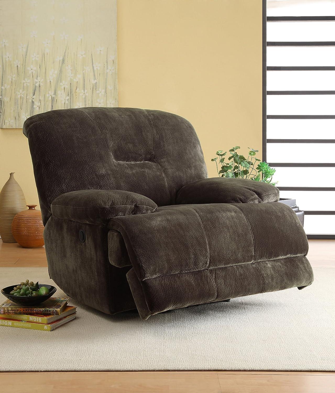 Amazon.com: Homelegance 9723-3 Double Reclining 2-Seater Sofa ...