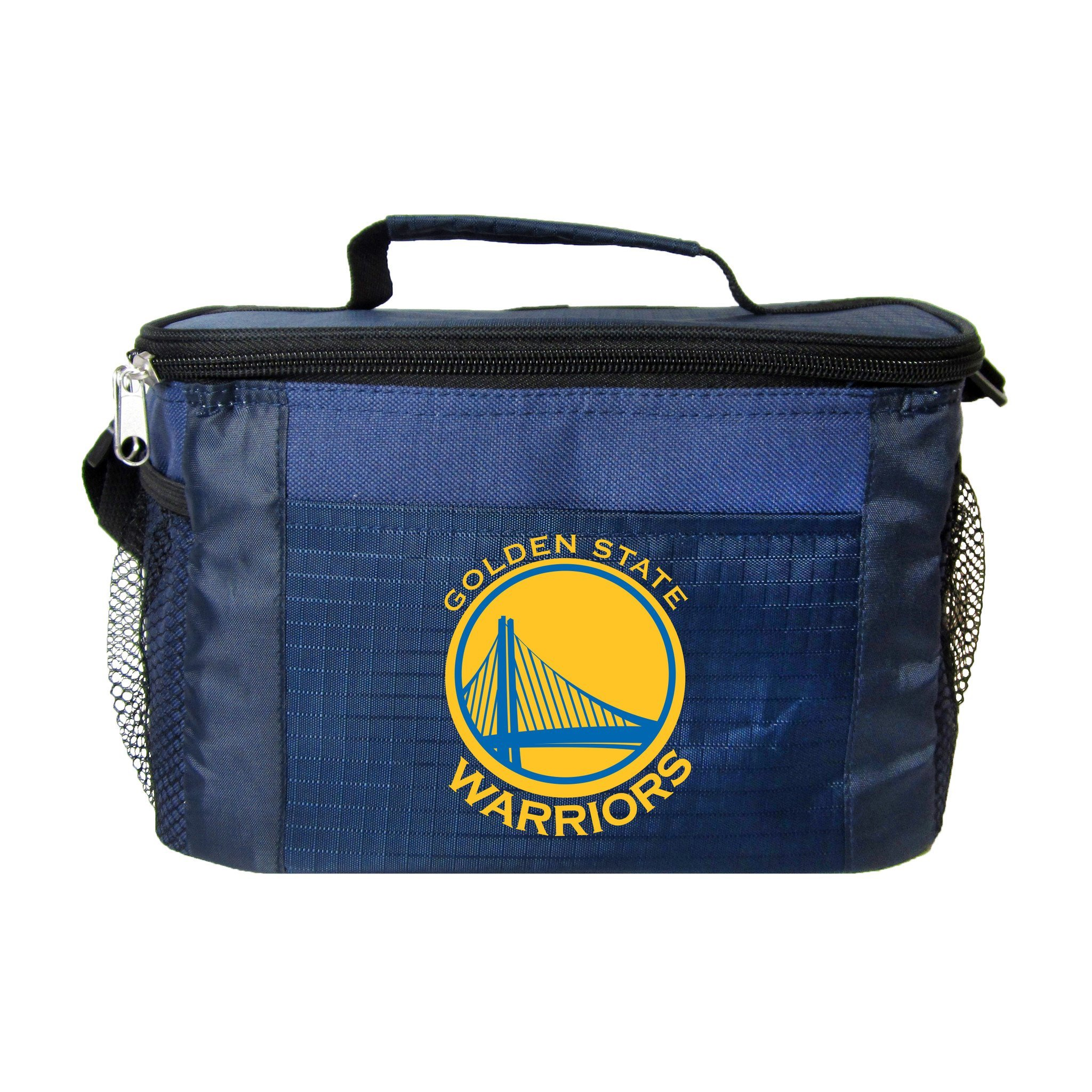NBA Golden State Warriors 6 Can Cooler Bag, One Size, Blue by Kolder