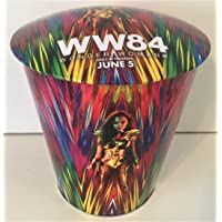 Wonder Woman 1984 2020 Movie Theater Exclusive 130 oz Embossed Metal Tin W/Lid