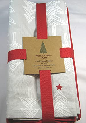 Well Dressed Home Fabric Christmas Plaid Tablecloth 60
