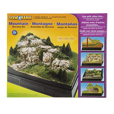 Woodland Scenics Diorama Kit, Mountain: Home & Kitchen