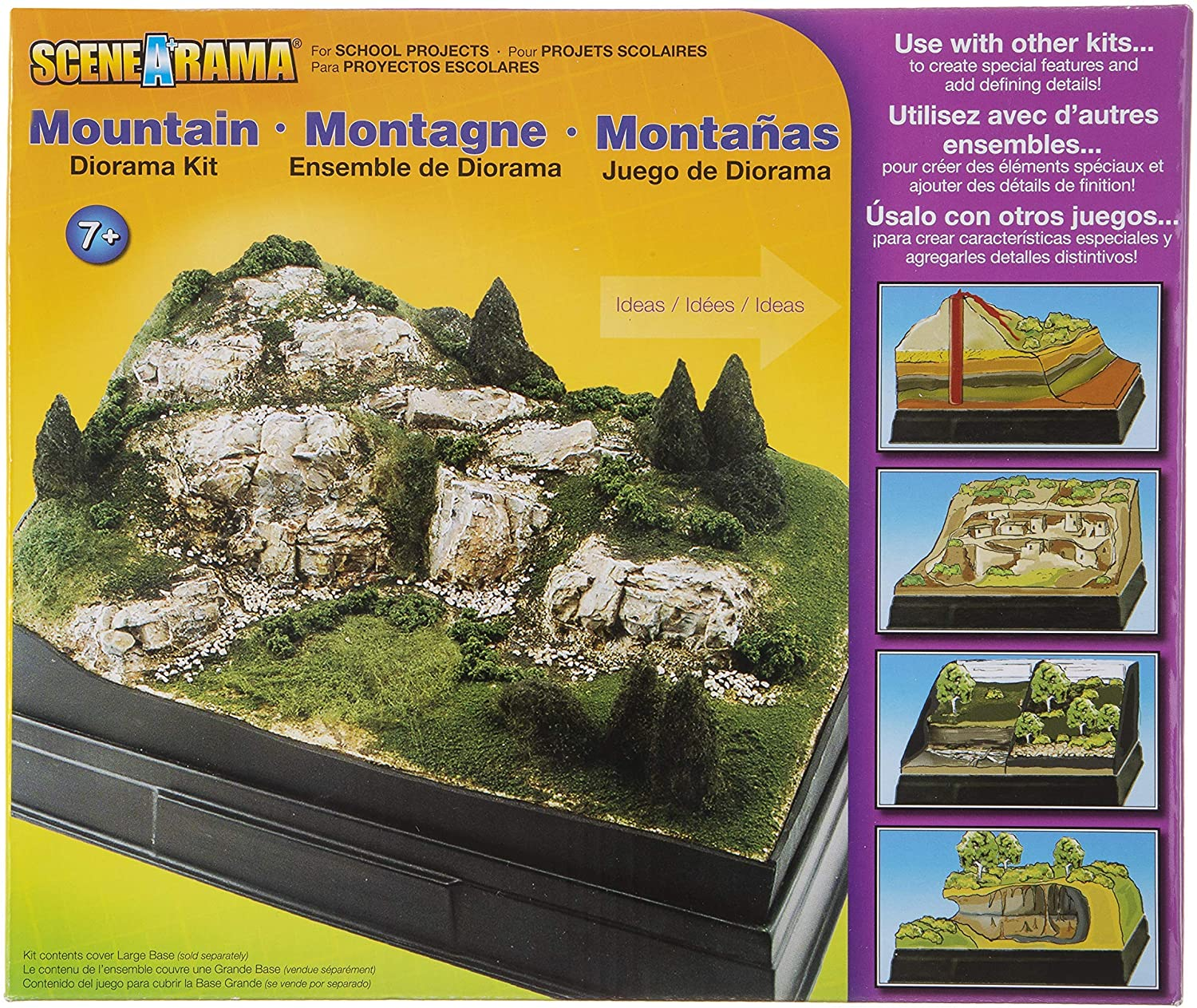 Woodland Scenics Diorama Kit, Mountain