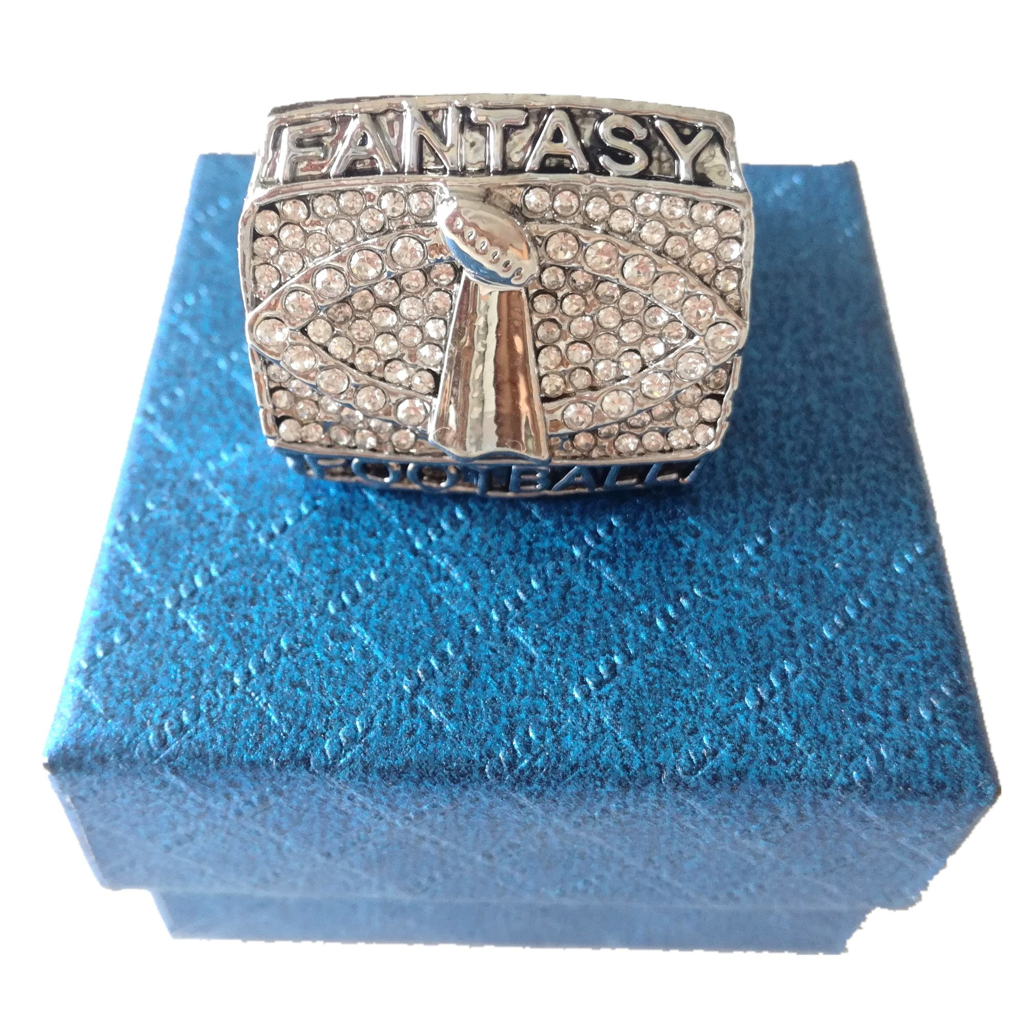 TYSping Fantasy Football 2011-2017 Championship Ring Trophy Prize (2014)