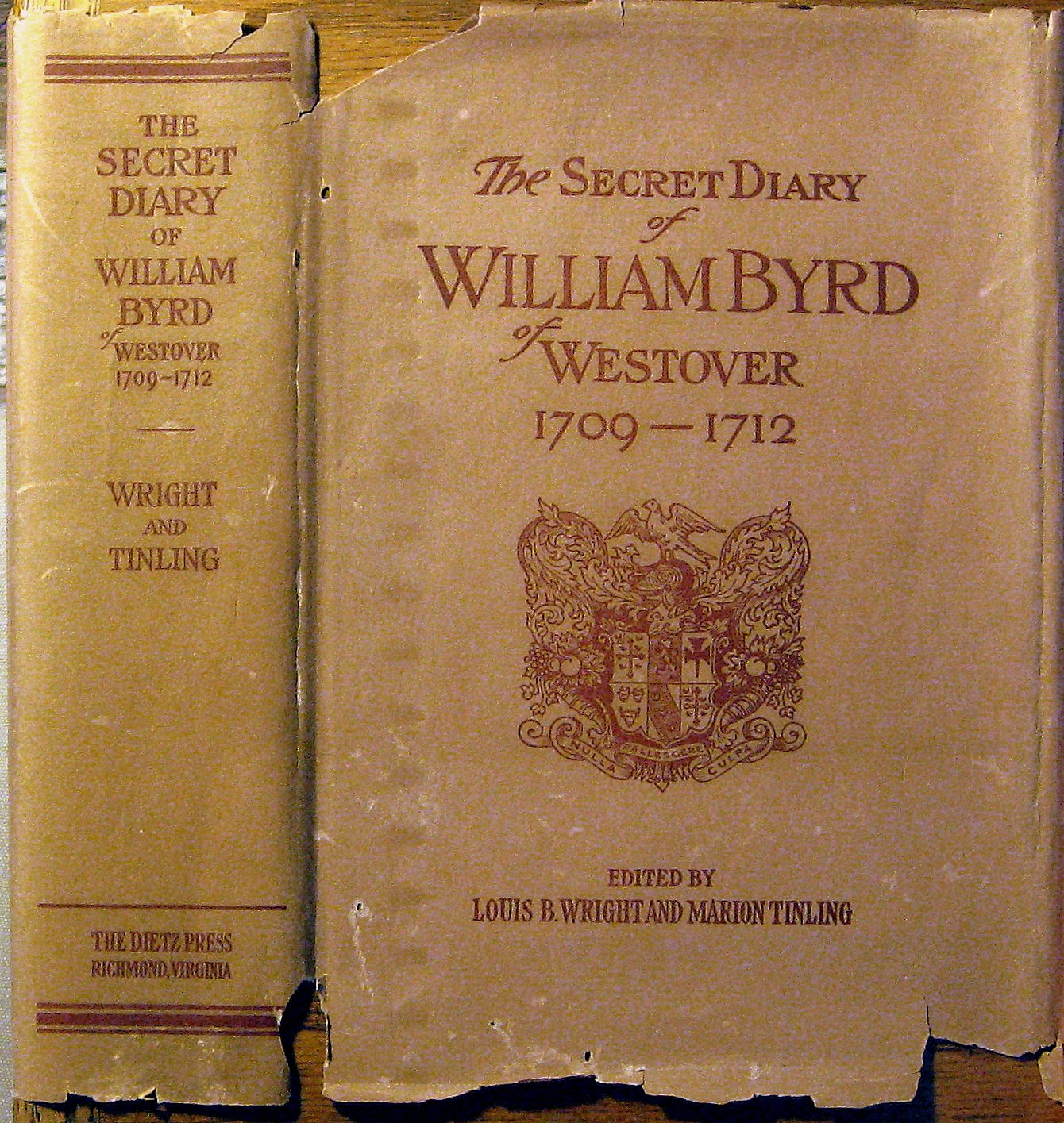 The Secret Diary of William Byrd of Westover 1709-1712: Marion ...