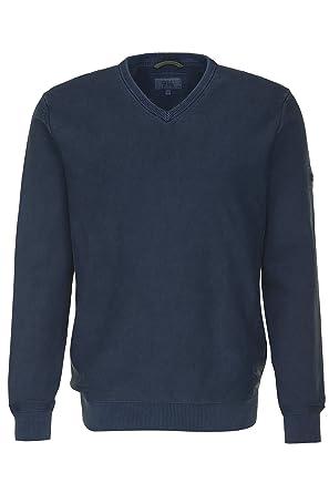 541fb6735e CAMEL Active Herren Pullover mit V-Ausschnitt Sweater Uni & Uninah, Größe: S