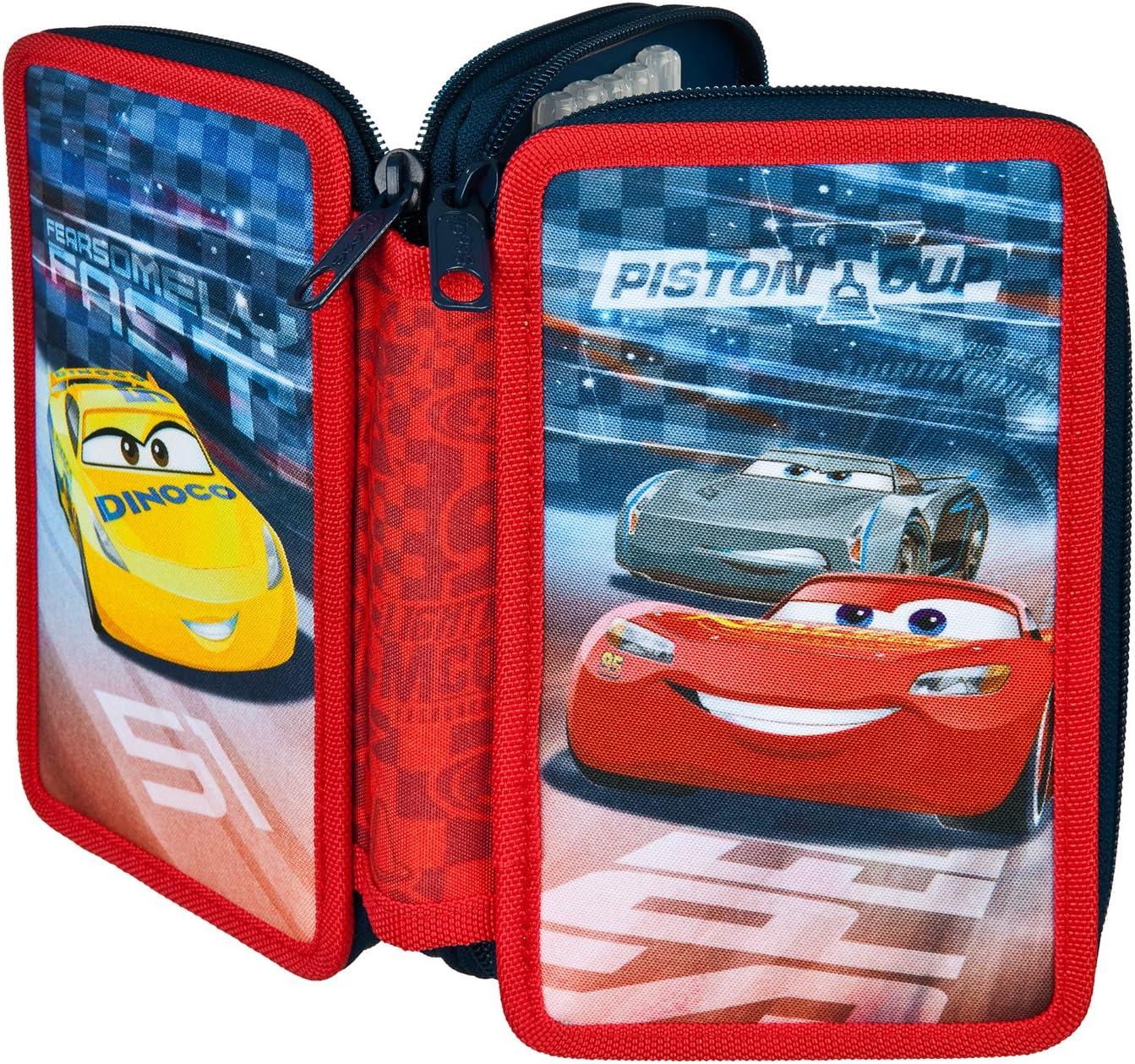 Unbekannt scooli caad0433 sí Estuche Doble con STABILO Marca Relleno, Disney Pixar Cars: Amazon.es: Juguetes y juegos