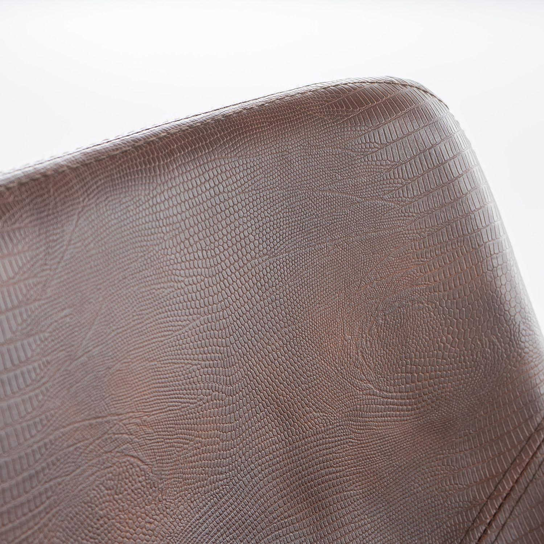 Amazon.com: Willow taburete de bar de piel de serpiente ...
