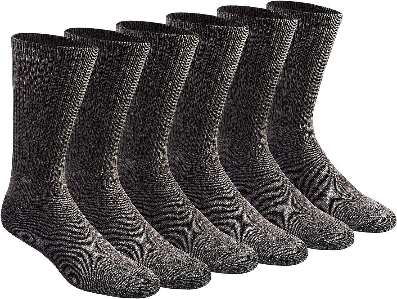 Dickies Men's Dri-tech Moisture Control Crew Socks Multipack