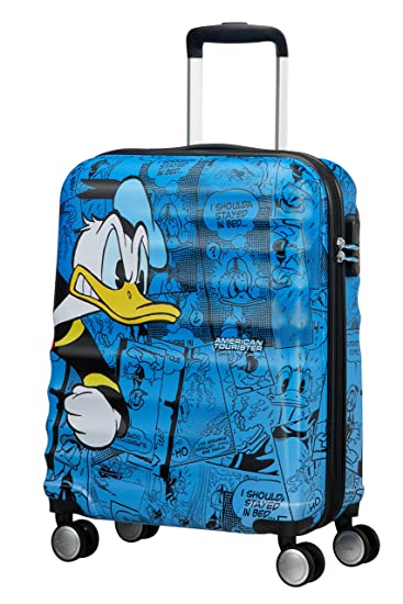 d6b3f15cf0 Amazon.com | American Tourister - Disney Wavebreaker - Spinner 55/20 Hand  Luggage, 55 cm, 36 liters, Multicolour (Donald Duck) | Carry-Ons