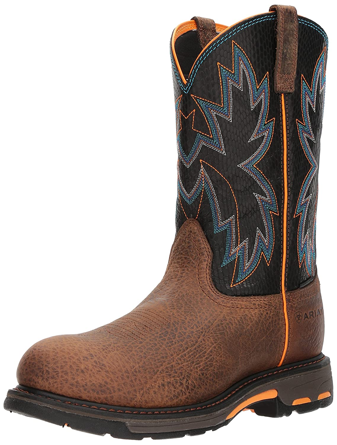 Ariat Work メンズ Workhog Raptor Composite Toe Earth/Black Snake Print 8.5 D(M) US 8.5 D(M) USEarth/Black Snake Print B076MCRBL9