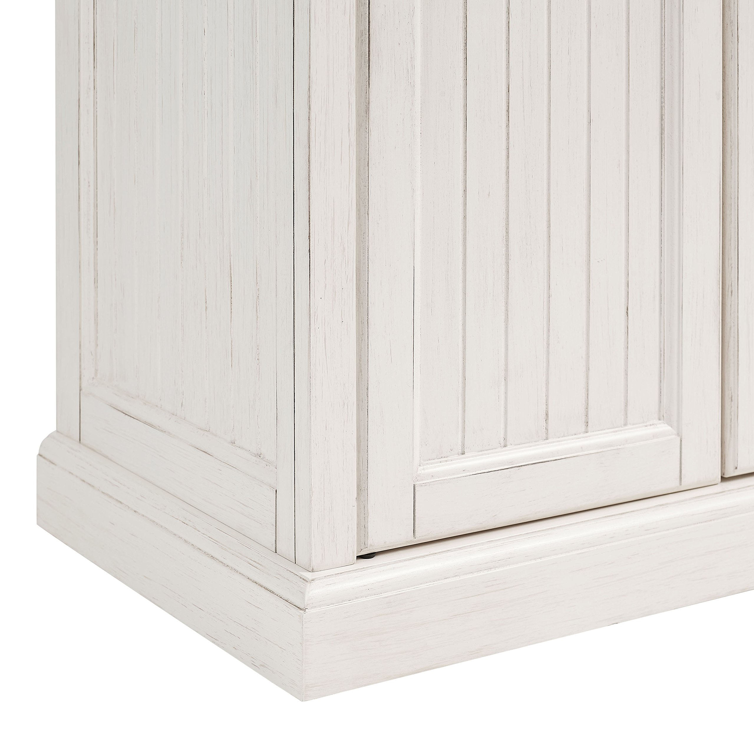 Crosley Furniture Seaside Kitchen Pantry Cabinet - Distressed White by Crosley Furniture (Image #10)