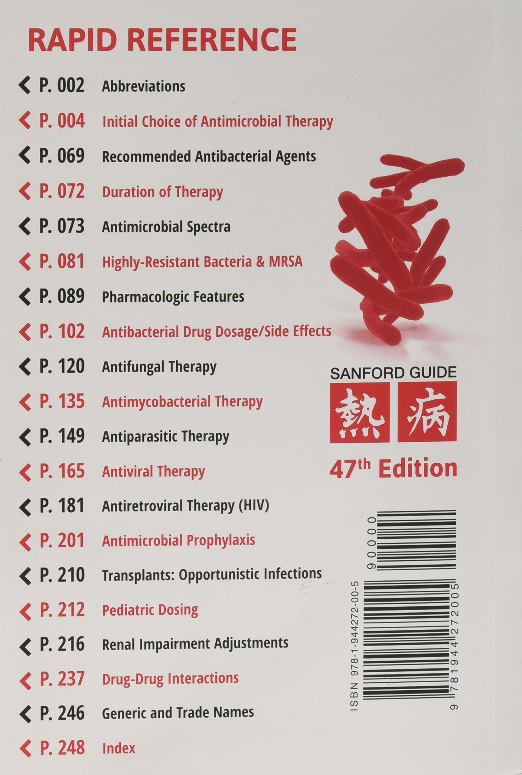 The Sanford Guide to Antimicrobial Therapy 2017: Amazon.de: David N ...