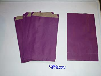 10 bolsas de papel kraft para regalo – 12 x 20 cm – Color ...