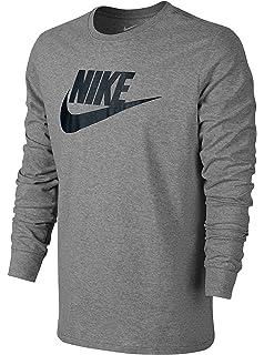 316284ab Nike Mens Futura Box Long Sleeve T-Shirt at Amazon Men's Clothing store: