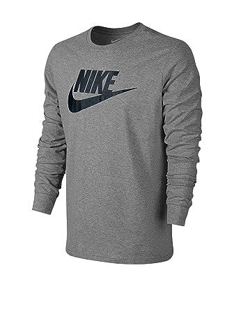 Nike tee-Futura Icon LS - Camiseta de Manga Larga para Hombre: Amazon.es: Deportes y aire libre