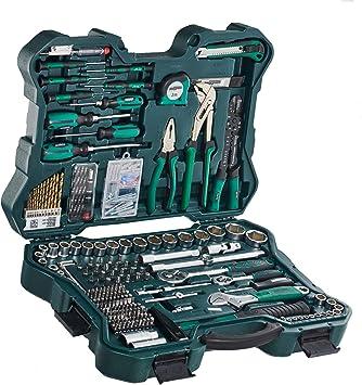 Mannesmann M29088 - Juego de Llaves de Vaso y Herramientas, 303 Piezas: Amazon.es: Bricolaje y herramientas