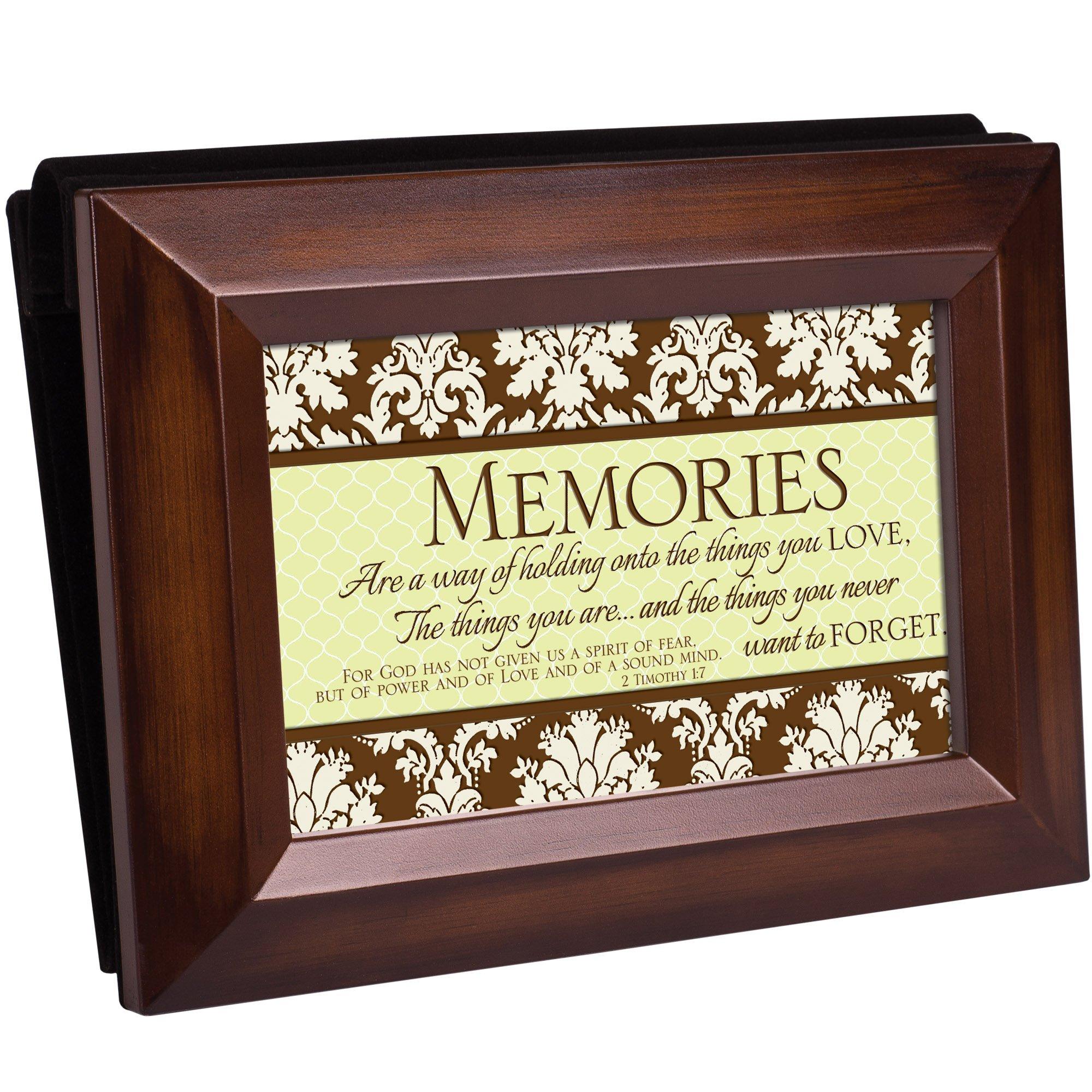 Cottage Garden Memories Woodgrain Photo Album
