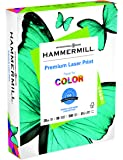 Hammermill Paper, Premium Laser Print Paper, 28lb, 8.5 x 11, Letter, 98 Bright, 500 Sheets/1 Ream (125534R), Made In The USA