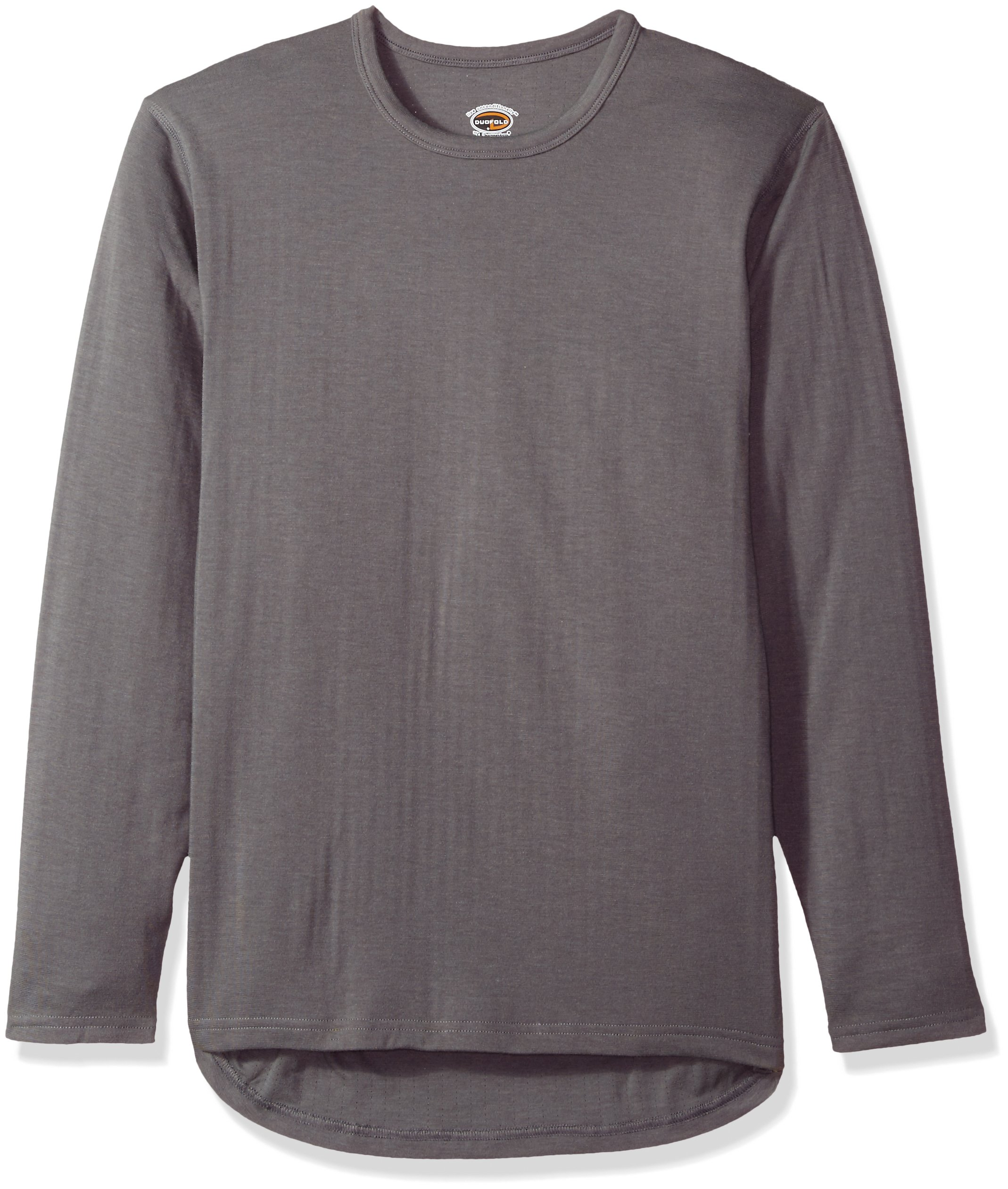 Duofold Men's Heavyweight Double-Layer Thermal Shirt, Thundering Gray, Large by Duofold