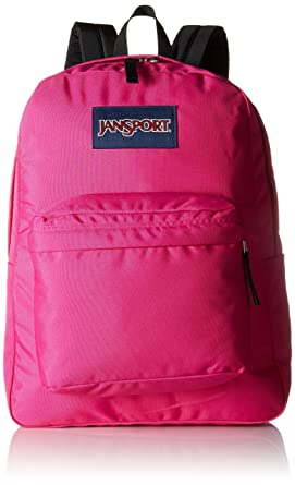 JanSport SuperBreak, Cyber Pink One Size