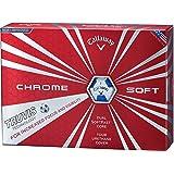 Callaway(キャロウェイ) ゴルフボール CHROME SOFT TRUVIS ゴルフボール(1ダース12個入り)2016年モデル  6421253122544 ブルー