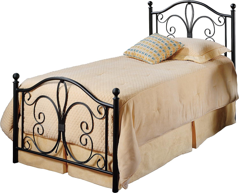Hillsdale Furniture Hillsdale Milwaukee Frame Twin Bed Set, Antique Brown