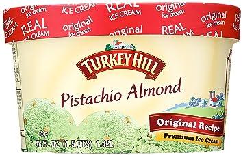 Turkey HIll Original Recipe Premium Ice Cream Pistachio Almond 48