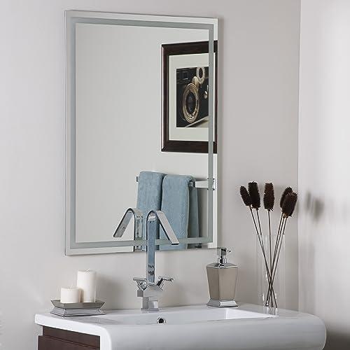 Decor Wonderland Frameless Etch Mirror