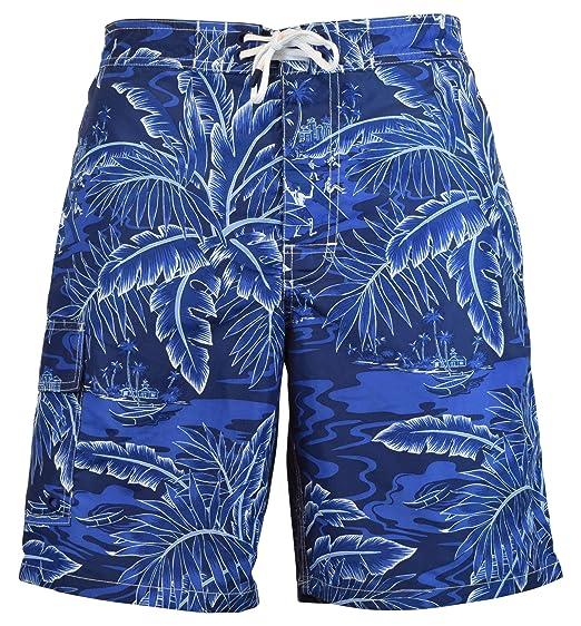 a8540251b54 RALPH LAUREN Polo Men s Floral Print Kailua Surfer Swim Trunks