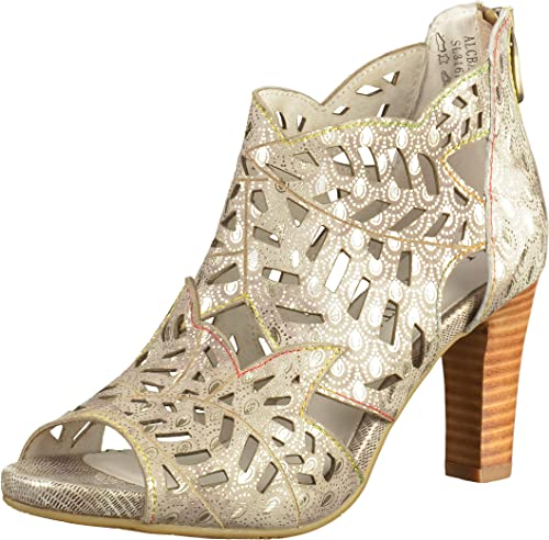 Sandales Bout Ouvert Femme LAURA VITA Alcbaneo 049