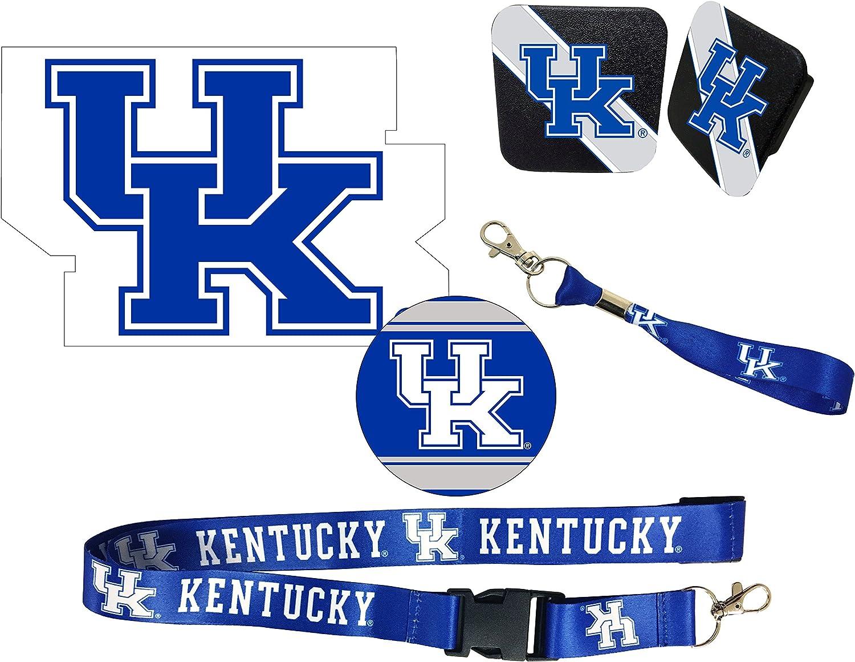 Kentucky Wildcats Rubber Trailer Hitch Cover