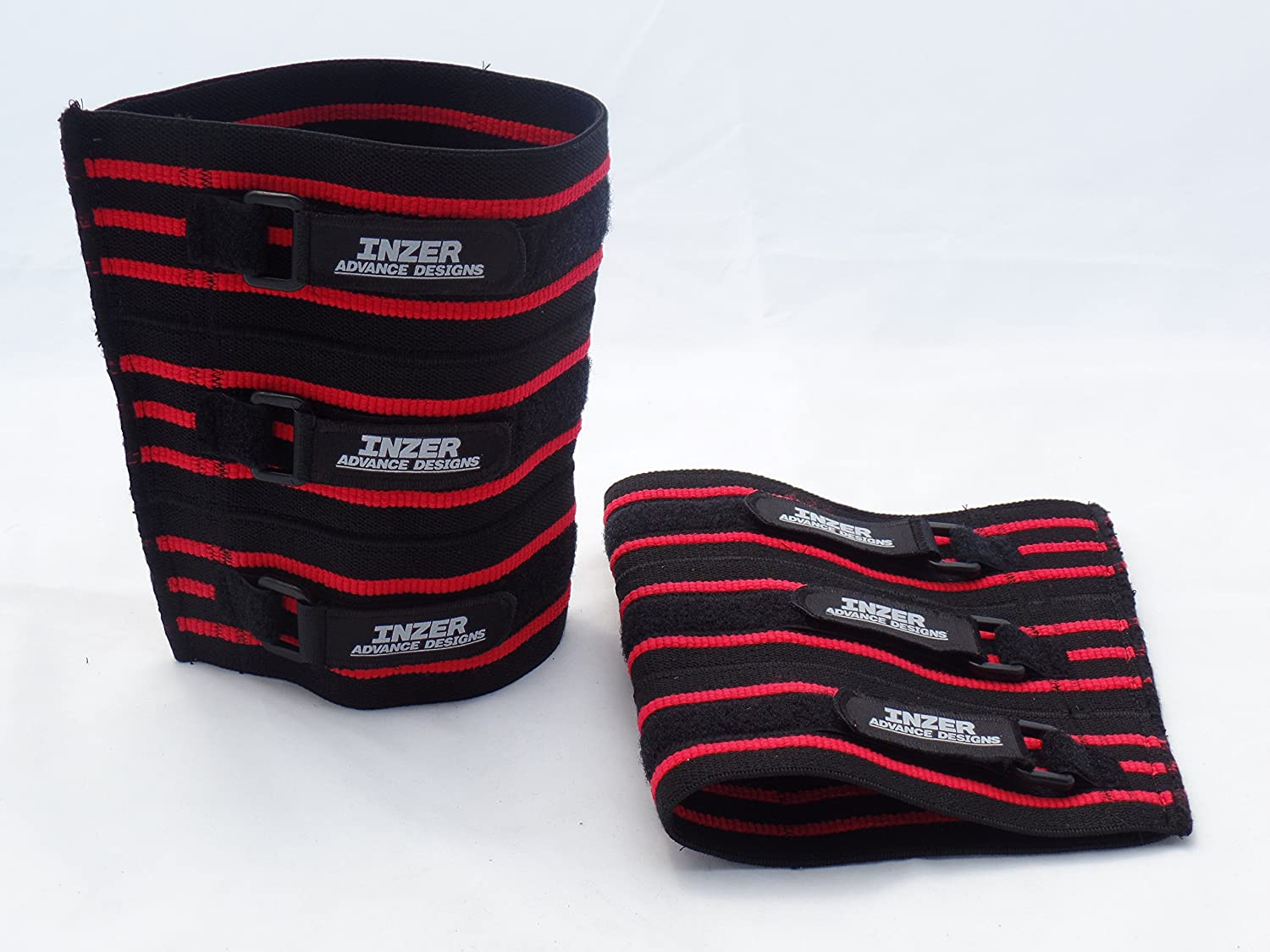Inzer XT Knee Sleeves(Pair) - Powerlifting, Weightlifting, Strongman : Sports & Outdoors