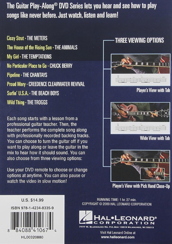 Amazon 60s Classics Guitar Play Along Dvd Volume 24 Hal