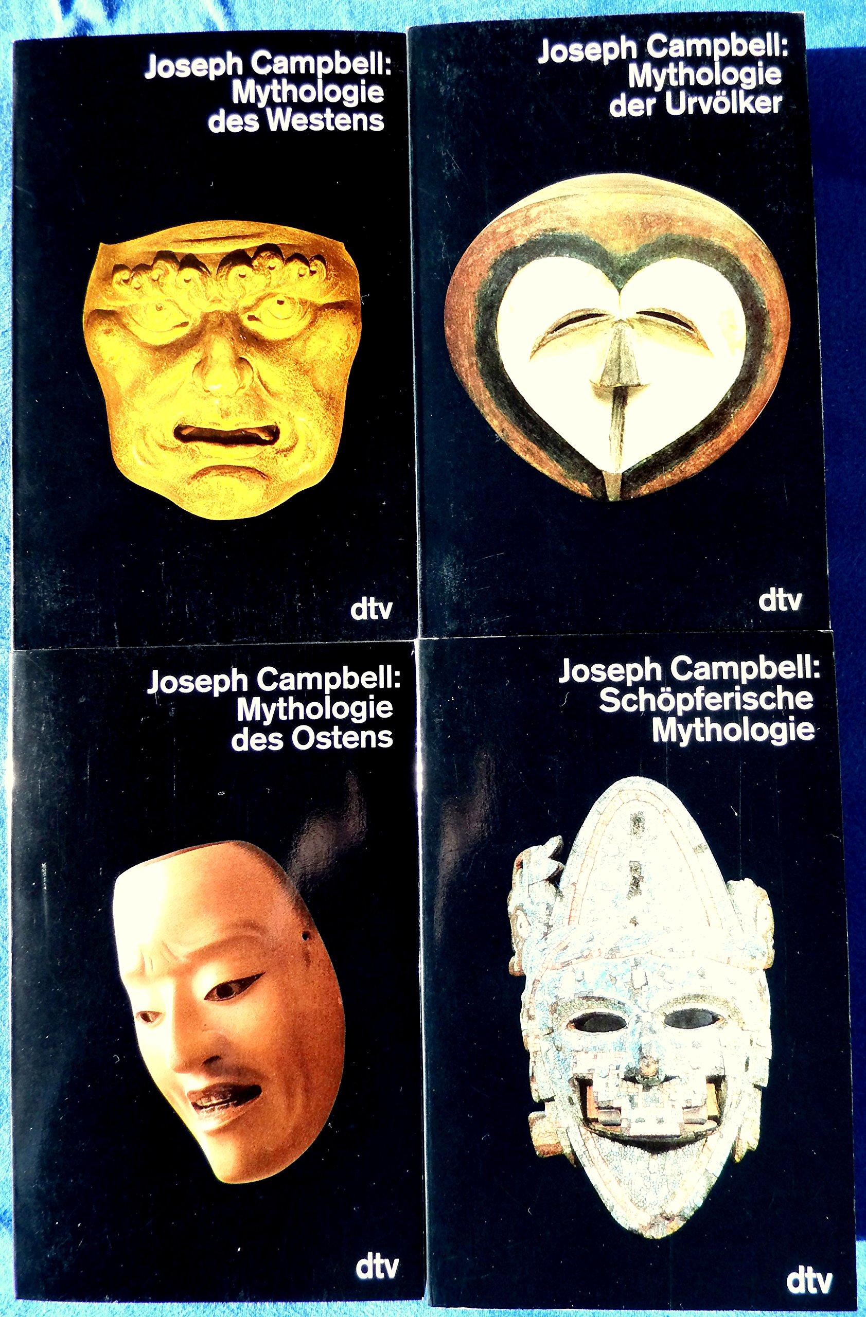 Die Masken Gottes: Band 1: Mythologie der Urvölker. Band 2: Mythologie des Ostens. Band 3: Mythologie des Westens. Band 4: Schöpferische Mythologie