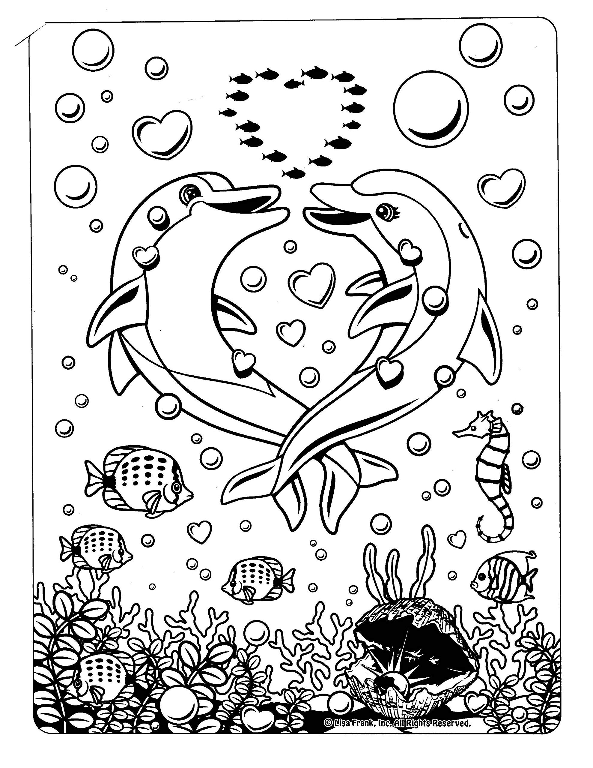 Hollywood Bear Lisa Frank Coloring Page - Free Printable Coloring ... | 2560x1978